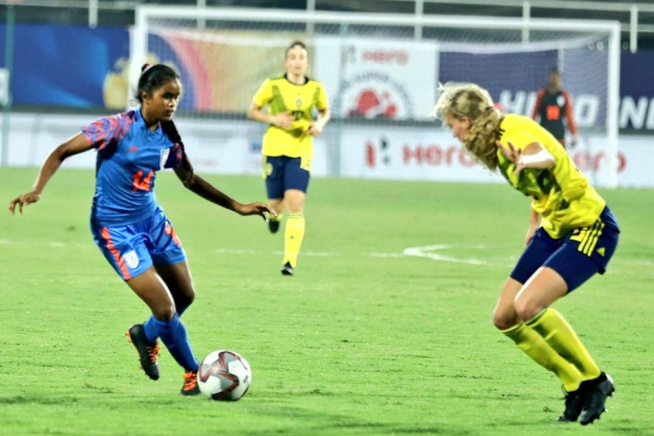U-17 womens tourney: India lose 0-3 to Sweden