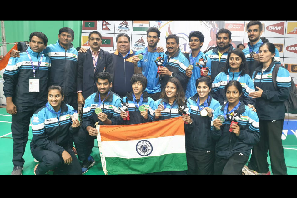 Indian Team bagged 10 medals including 6 golds at the 13th South Asian Games