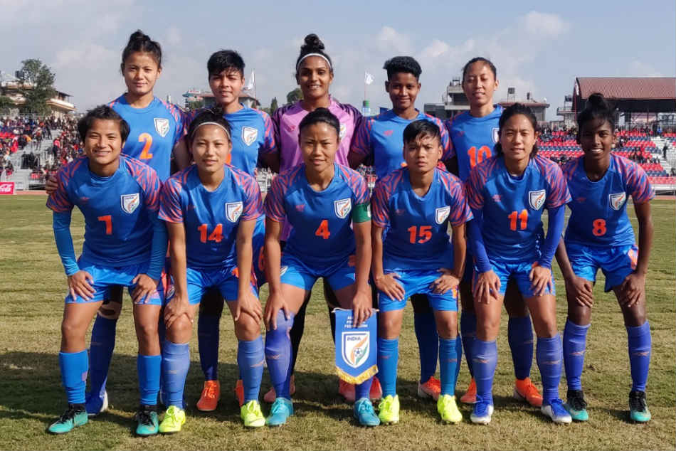 Indian women begin title defence with dominating win