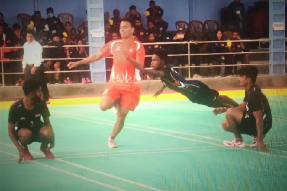 Indian Kho Kho team enter semi-finals at the 13th South Asian Games