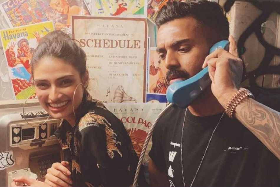 KL Rahul posts picture with Bollywood actor Athiya Shetty on Instagram, Hardik Pandya calls them cuties