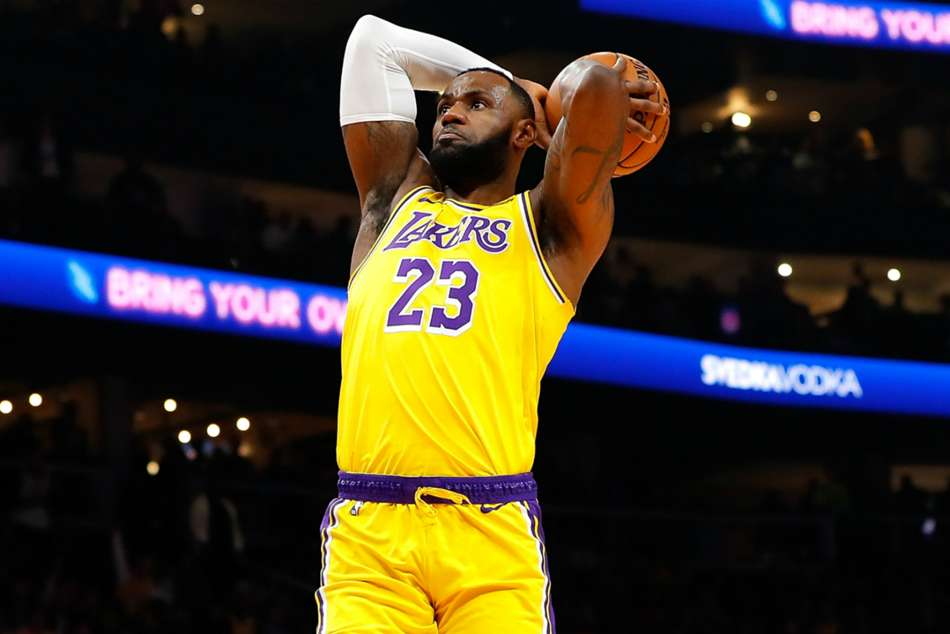 NBA wrap: LeBron leads Lakers, Nets crush 76ers