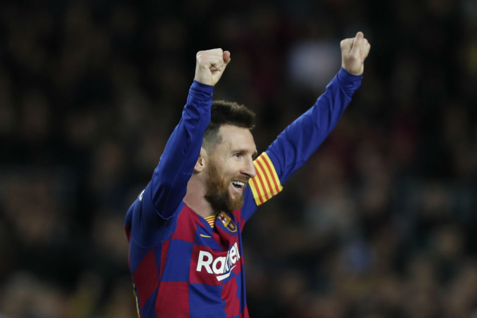 Messi hat-trick breaks La Liga record as Barca put five past Mallorca