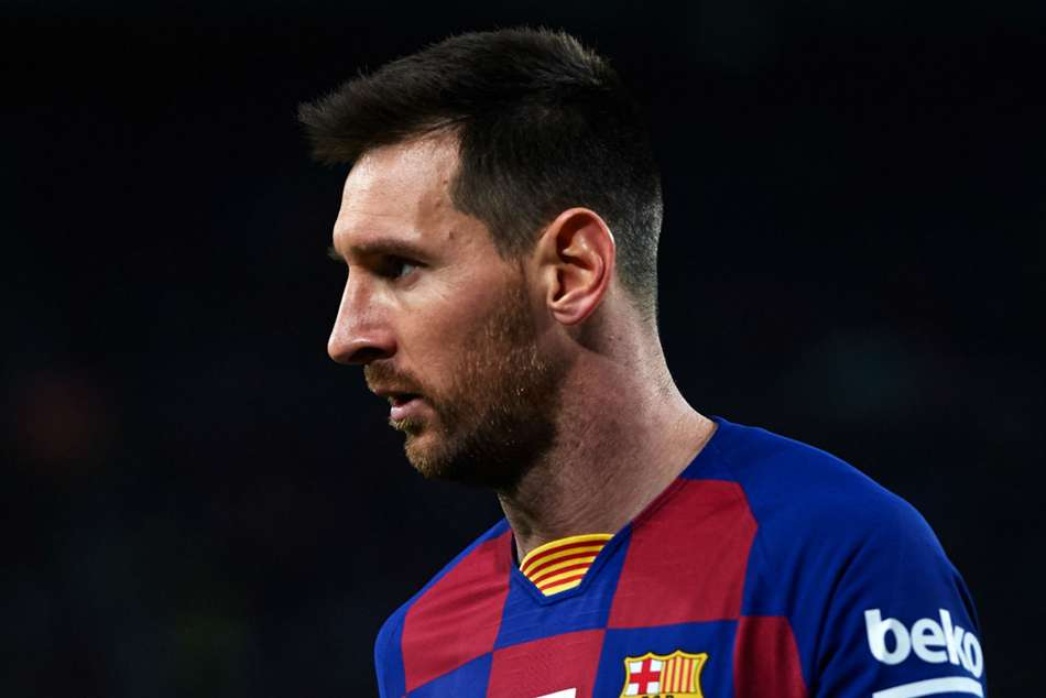 Lionel Messi rested from Barcelona squad