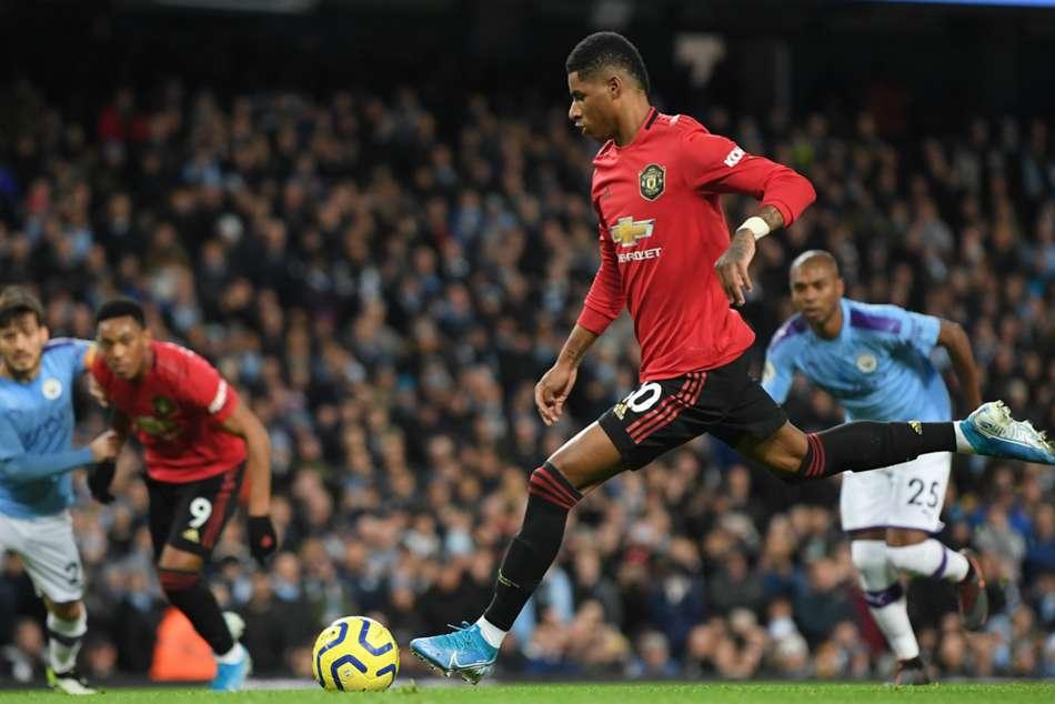 Manchester City 1-2 Manchester United: Rashford and Martial land big win for Solskjaer