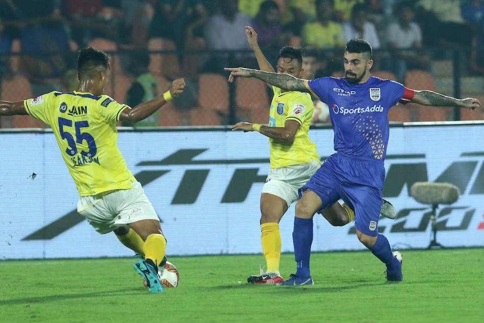 ISL 2019-20: Mumbai City FC vs Kerala Blasters FC: Mumbai, Kerala play out 1-1 draw