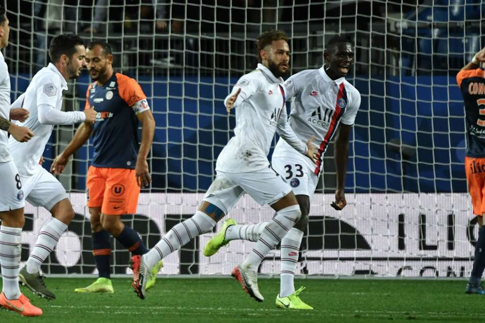 Montpellier 1-3 Paris Saint-Germain: Neymar inspires late comeback