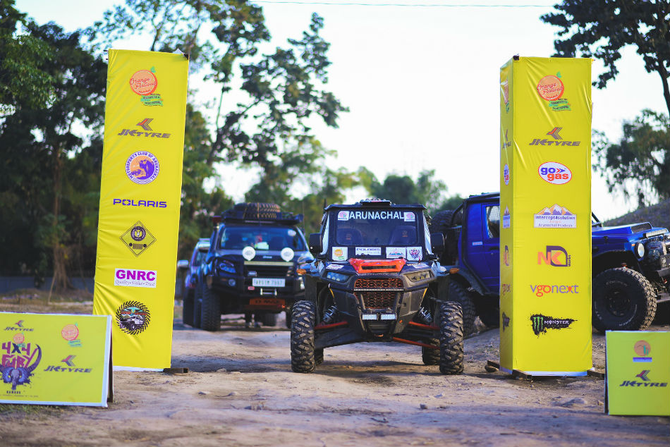 JK Tyre Orange 4X4 Fury got off to a colourful start