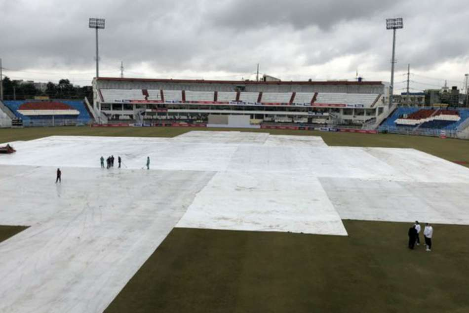 Pakistan Sri Lanka Day Four Washed Out First Test Rawalpindi