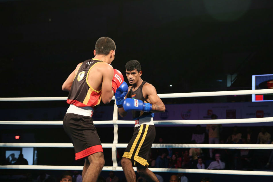 Big Bout Boxing League: Prasad regains lost ground for Punjab Panthers with a sound victory on Day 9