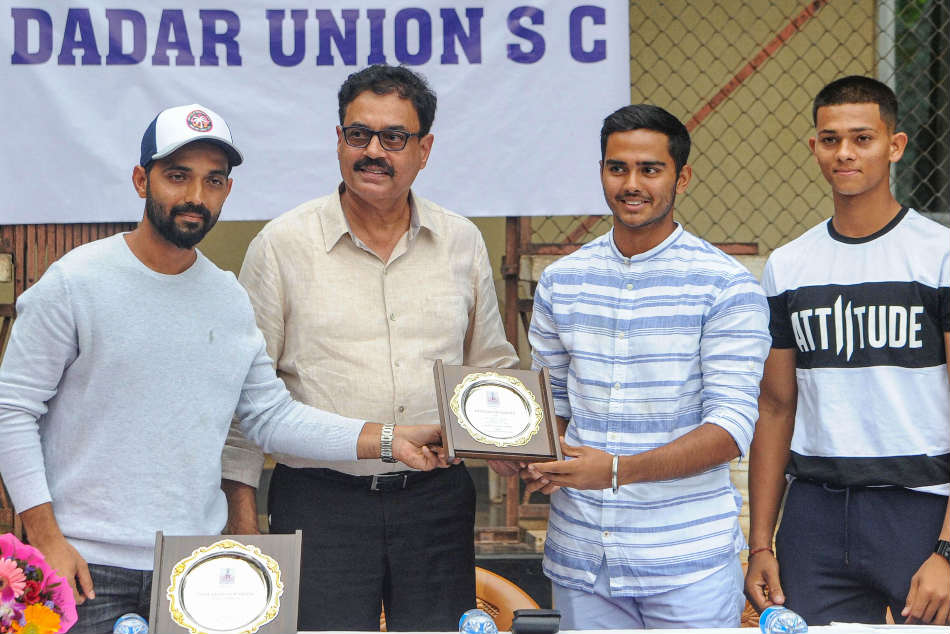 Important to deliver at big events like U-19 WC: Vengsarkar, Rahane tell Mumbai youngsters