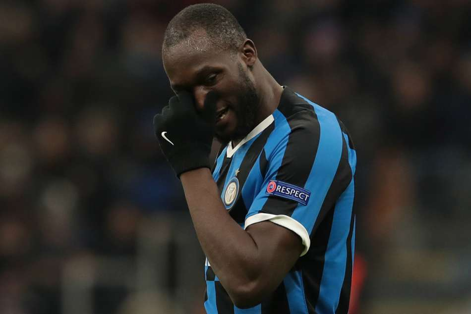 Shaw mocks Lukaku with 'welcome back' message as Inter drop into Europa League
