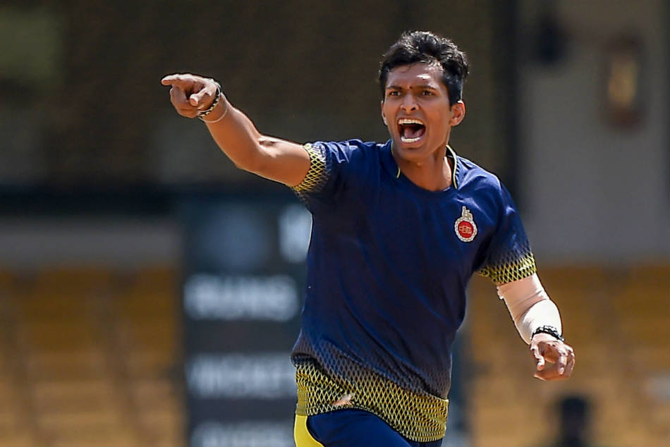 Navdeep Saini replaces injured Deepak Chahar for the third ODI in Cuttack