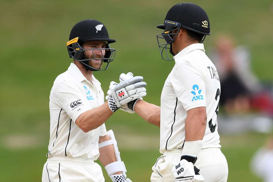 Williamson and Taylor remained unbeaten on centuries as the second Test ended in a draw