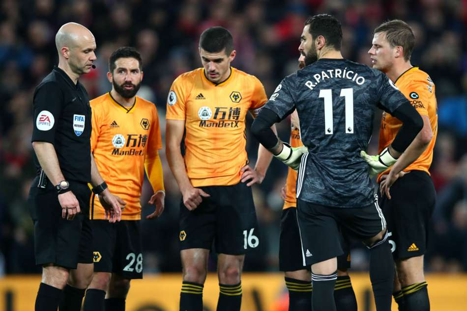 Liverpool Wolves Premier League Anfield Conor Coady Var Anger Not Working