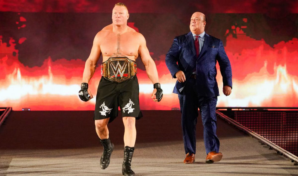 Wwe And Fox Sort Out Issues Over The Fiend Brock Lesnar Trade Deal