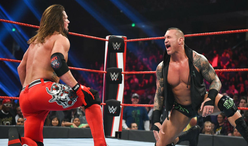 AJ Styles vs. Randy Orton main event announced for WWE Raw (image courtesy WWE.com)