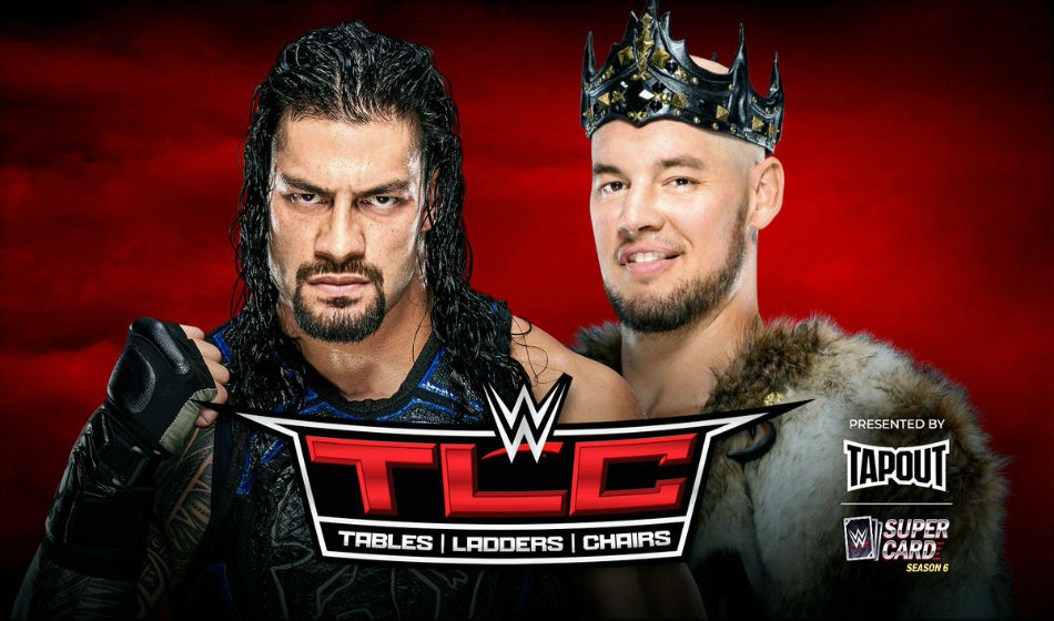 Universal title match and Reigns vs. Corbin confirmed for WWE TLC 2019