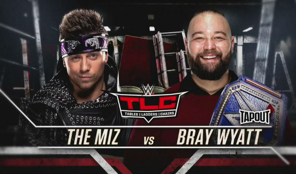 Universal title match poster for WWE TLC 2019 (image courtesy Twitter)