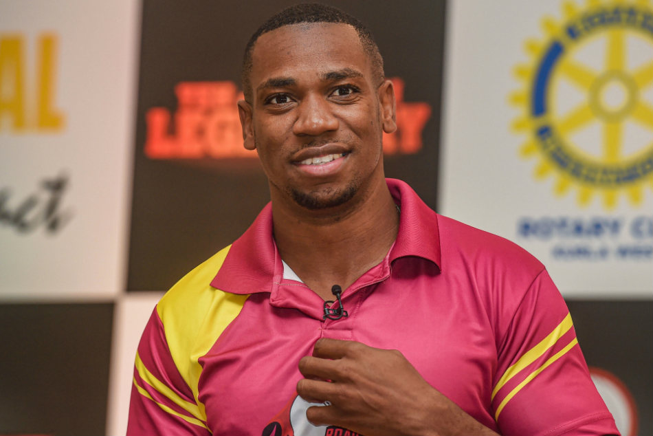 Yohan Blake trains his eyes on gold in Tokyo Olympics