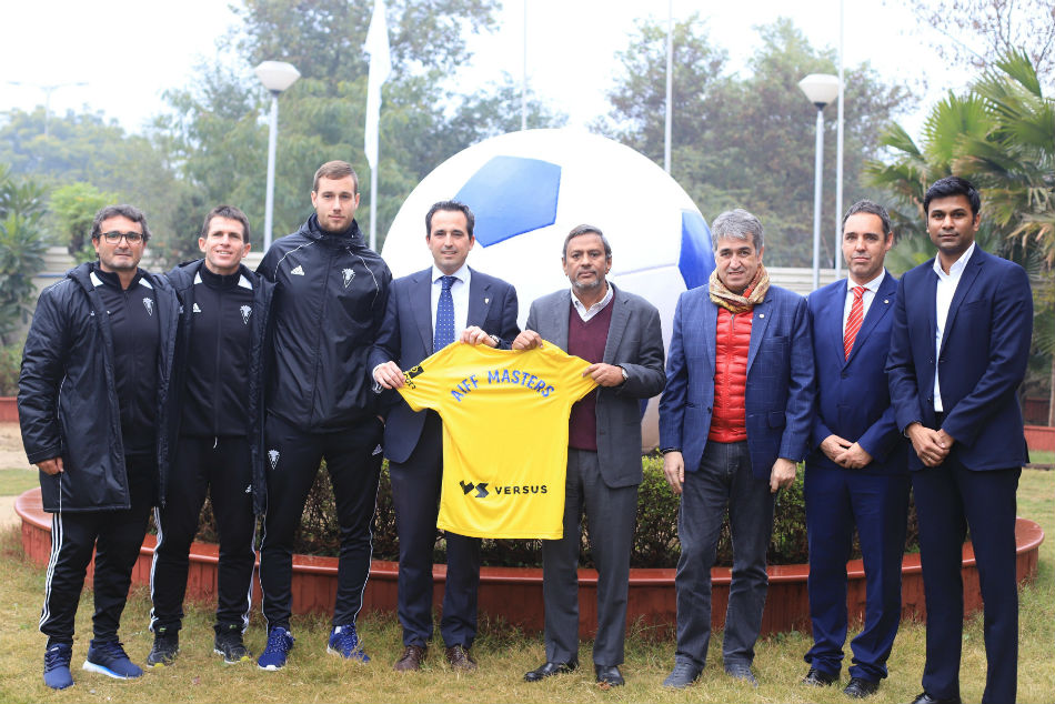 AIFF and Cadiz CF start football masters course in India