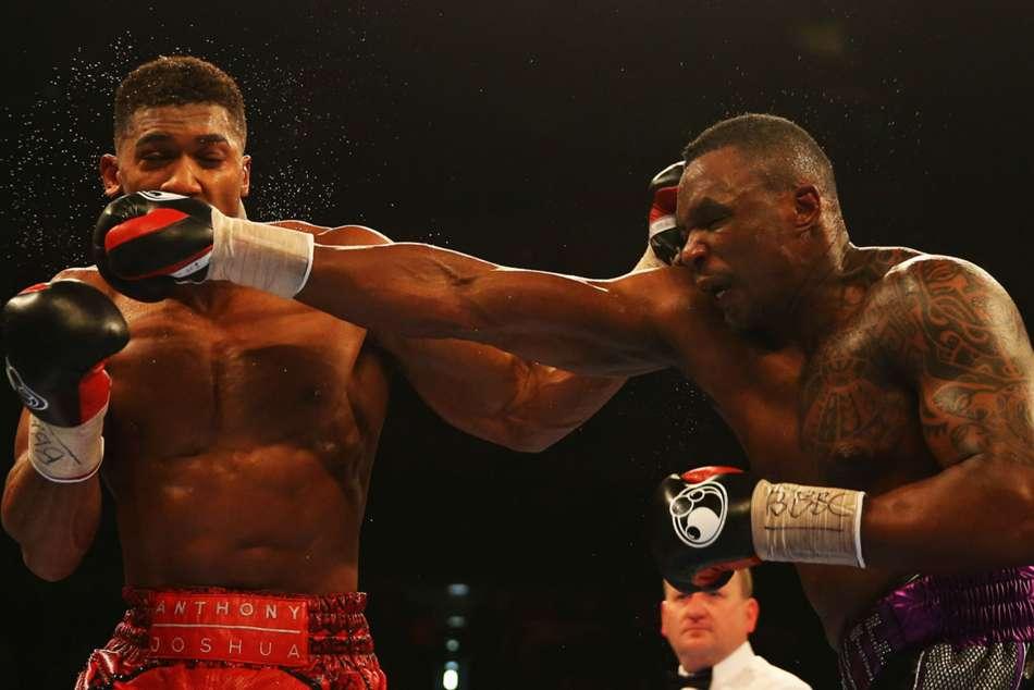 Anthony Joshua Talks Rubbish Dillian Whyte Slams Rival Tyson Fury Sparring Saga