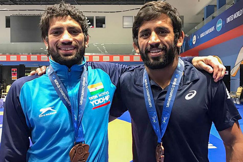 Bajrang, Ravi Kumar claim gold medals in Rome Ranking Series