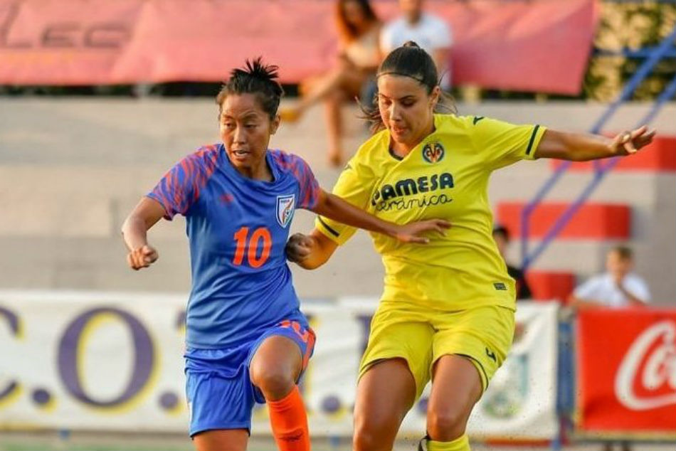 A first in Indian football: Scottish club Rangers FC sign Bala Devi