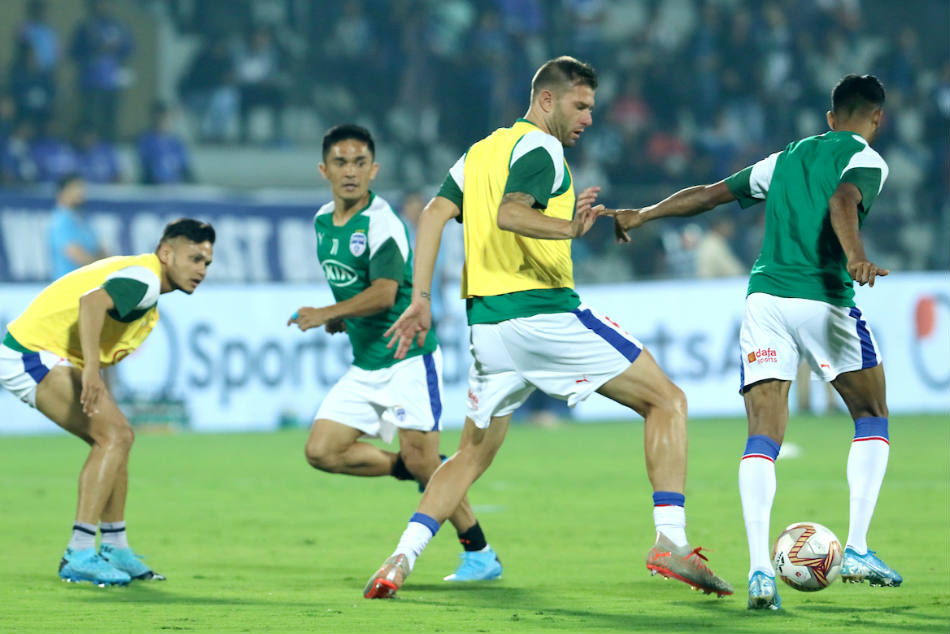 Bengaluru FC will host Odisha FC on Wednesday. Credit: ISL Media