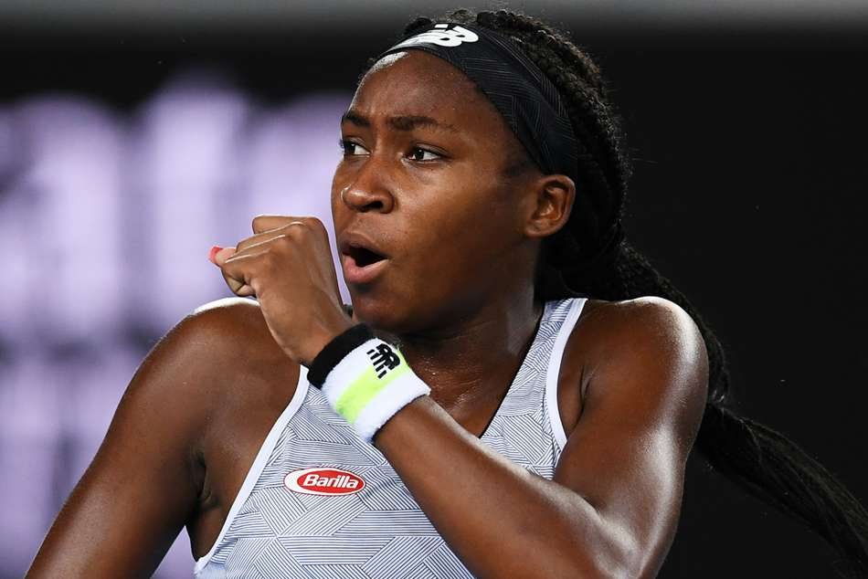 Australian Open 2020: Gauff repeats Wimbledon exploits with Venus victory