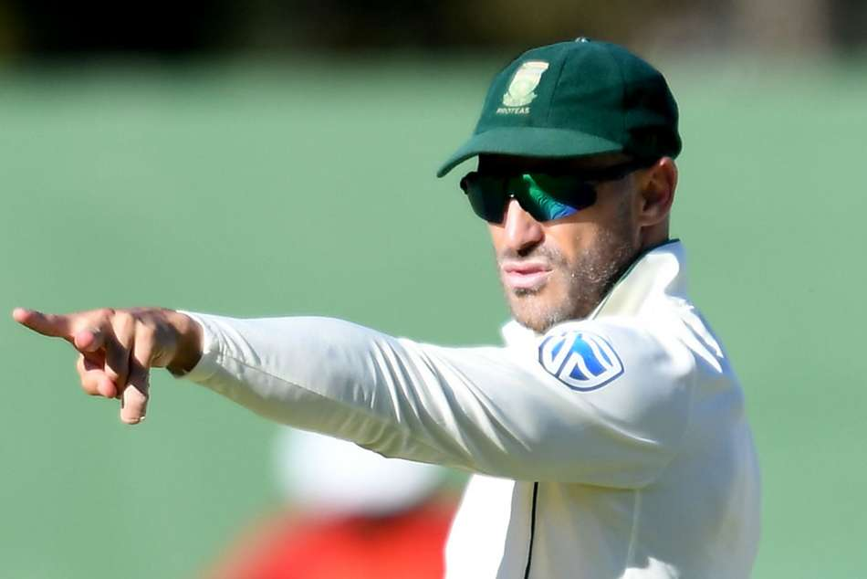 Faf Du Plessis Fourth Test South Africa England Last Home
