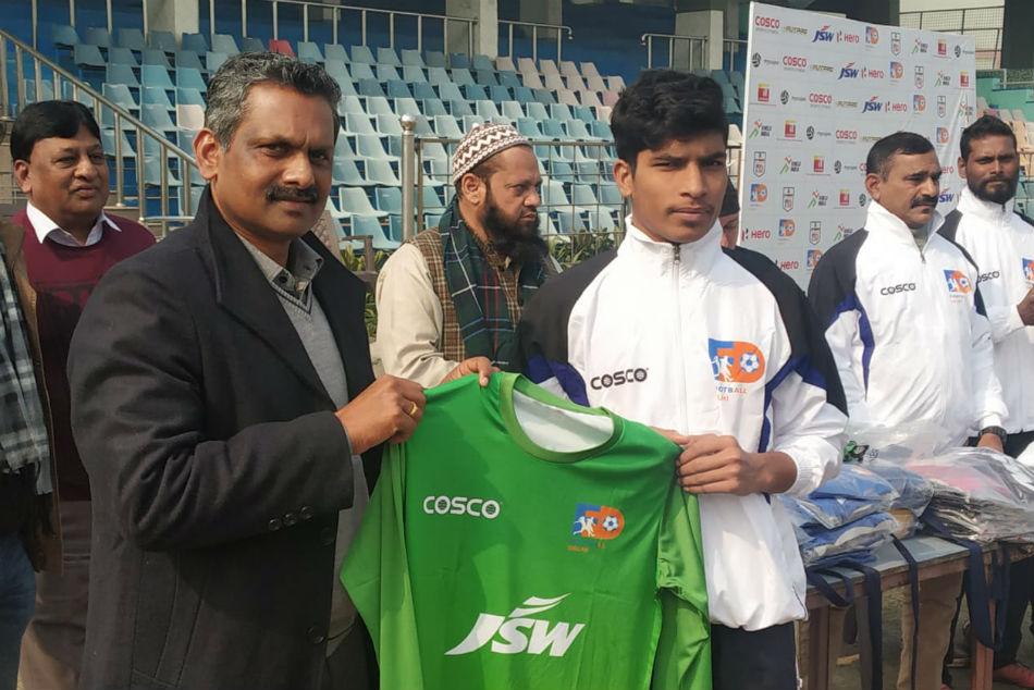 Led by skipper Ashu Delhi U-17 boys to participate in the Junior National Football Championship in Meghalaya