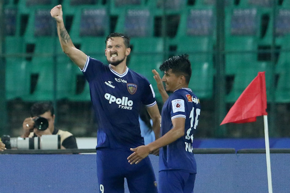 ISL 2019-20: CFC 4-1 JFC: Nerijus Valskis brace helps Chennaiyin close gap on top-four with dominating win at