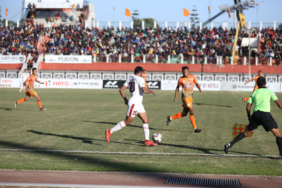 I-League: NEROCA FC 0-Mohun Bagan 3: Mariners consolidate top spot with a win against NEROCA