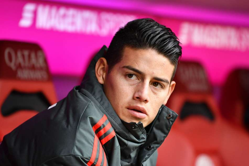 Everton in pole position to sign Real Madrid attacker James Rodriguez