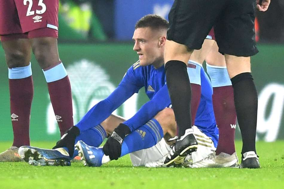 Injured Vardy to miss FA Cup clash, could return for EFL semi-final