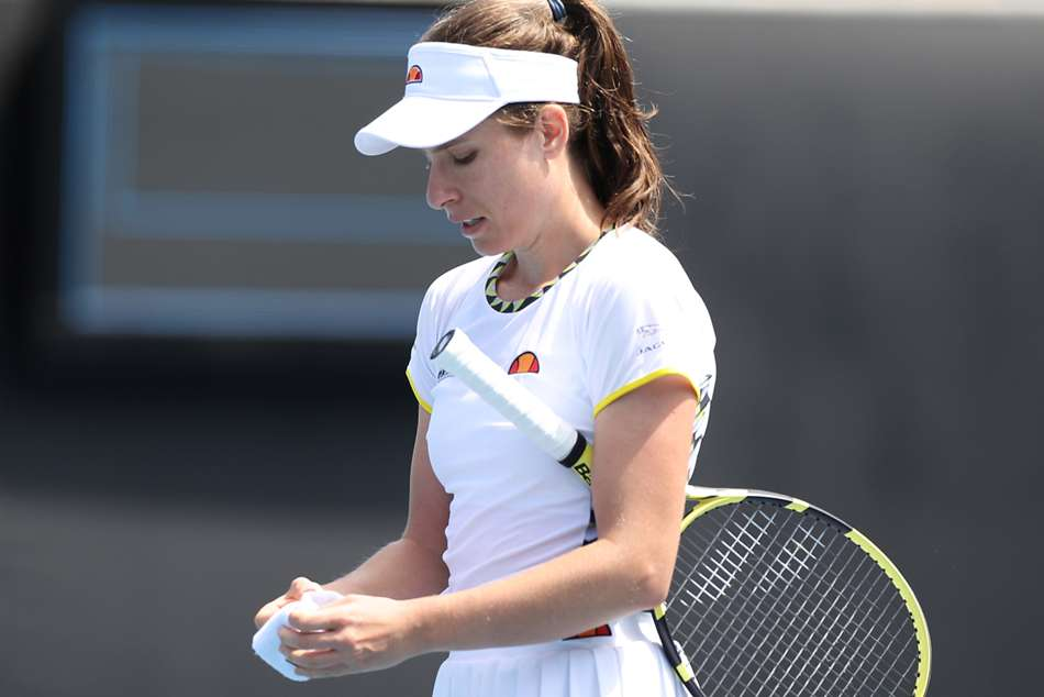 Australian Open 2020: Konta bows out early again in Melbourne