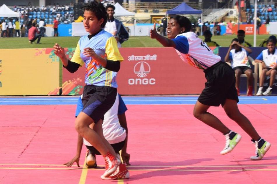 Khelo India Youth Games 2020 Maharashtra Karnataka Kho Kho Teams Dominate On Day 3