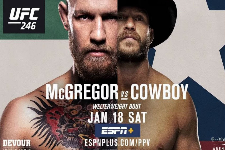Ufc 246 Mcgregor Vs Cowboy Fight Card Preview Date India Time Tv Info
