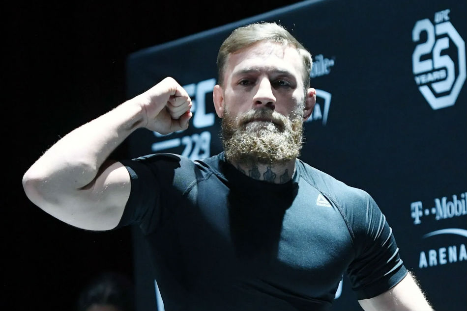 Conor McGregor returns to the Octagon for the first time since October 2018