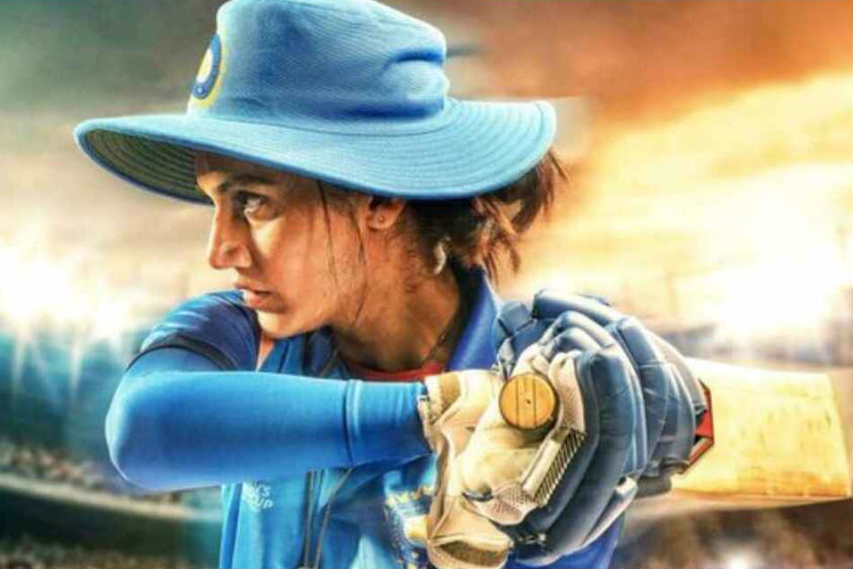 Poster of Mithali Raj biopic 'Shabaash Mithu' released