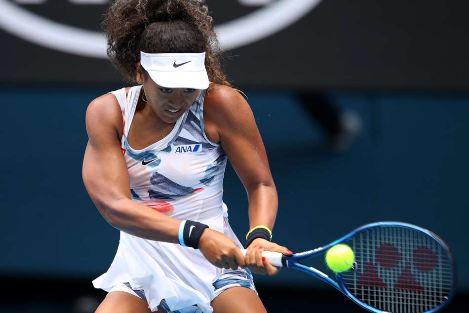 Australian Open 2020: Osaka begins title defence with straight-sets win
