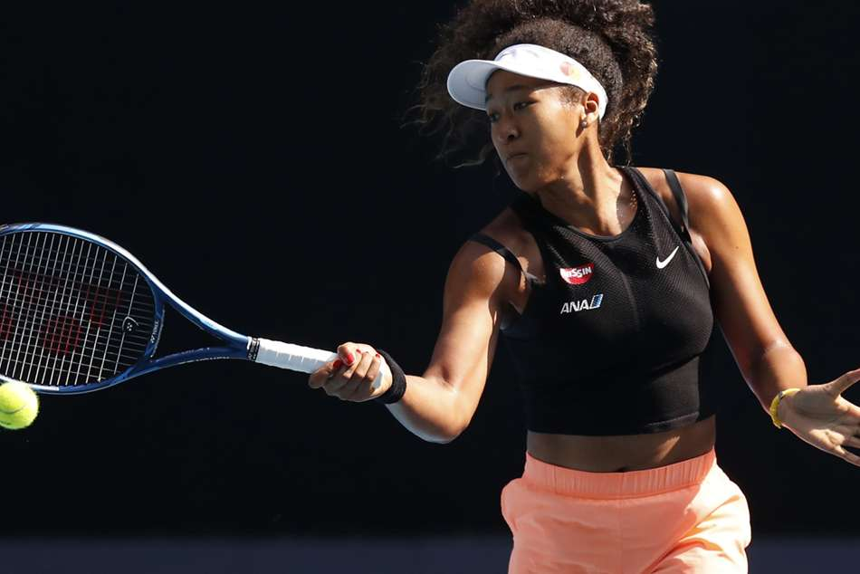 Naomi Osaka believes she is not as fearless as last year