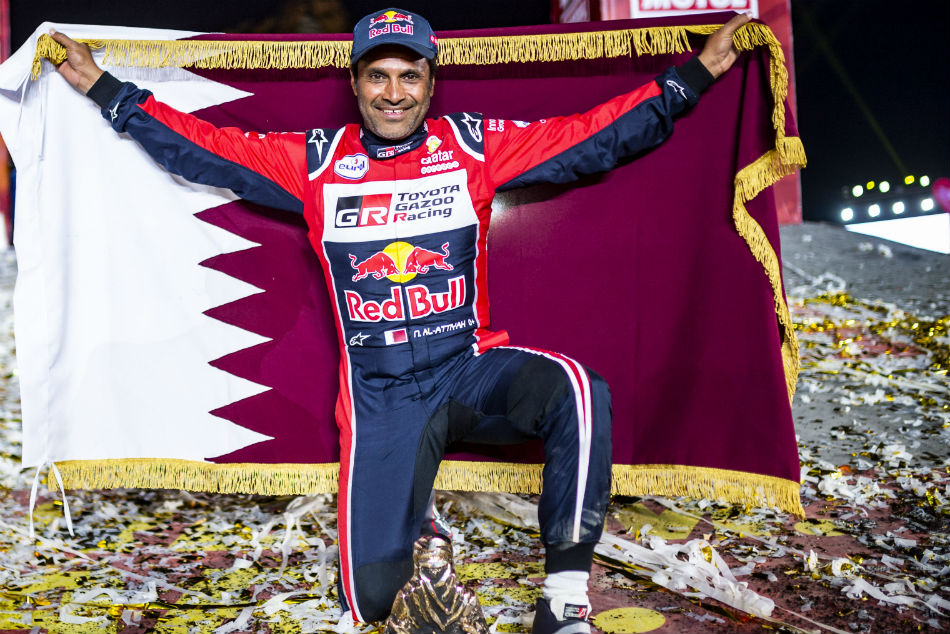 Dakar Rally Al Attiyah Vows To Comeback Stronger Next Year