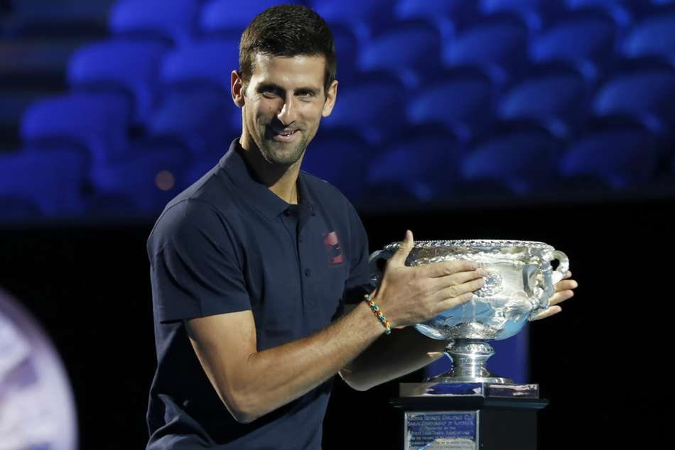 Novak Djokovic will begin his title defence against Jan-Lennard Struff