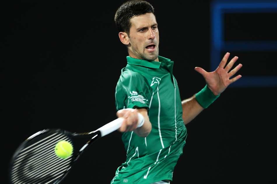 Australian Open 2020: Novak Djokovic overcomes wobble to progress