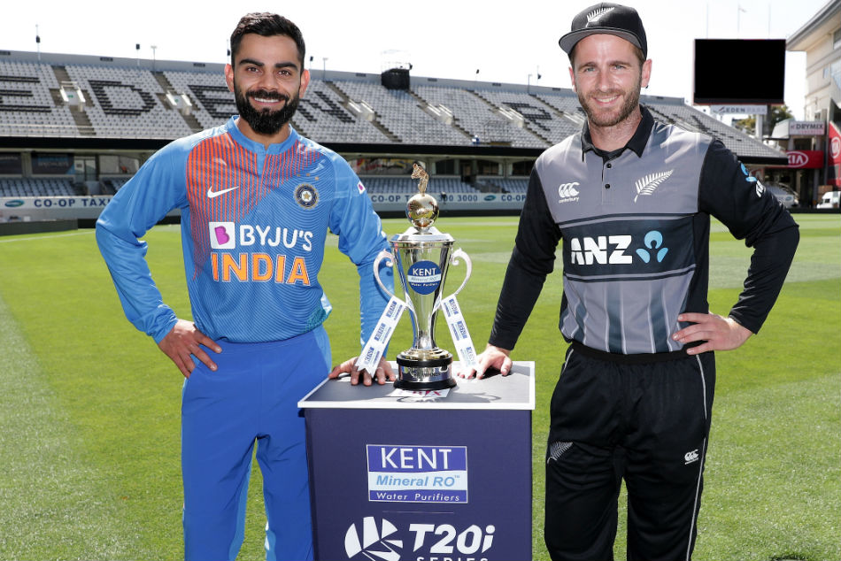 India kick off their campaign in New Zealand on January 24 (Image Courtesy: BlackCaps Twitter)