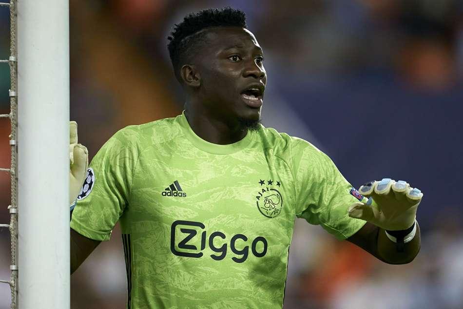 Ajax Goalkeeper Andre Onana Claims Transfer Fell Through Because Colour Of Skin