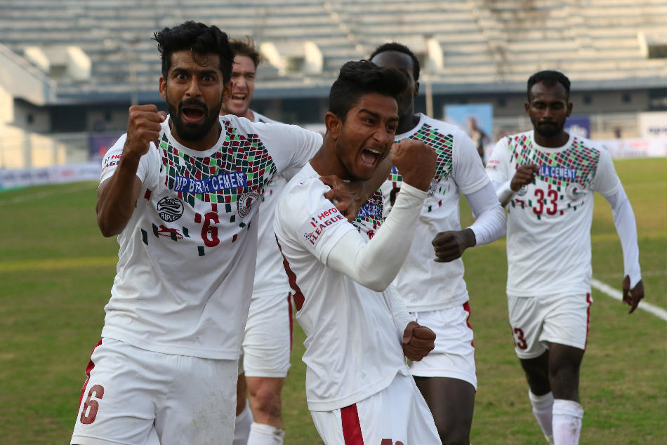 Hero I-League 2019-20: Mohun Bagan hold Punjab in hard-fought draw, stay on top