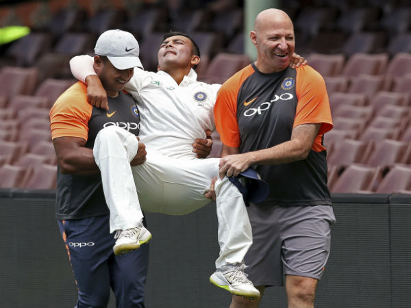 Prithvi Shaw makes a comeback